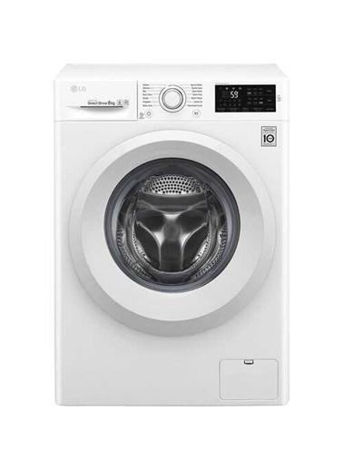 LG F2J5TNP3W A+++ 8 kg 1200 Devir Çamaşır Makinesi Beyaz
